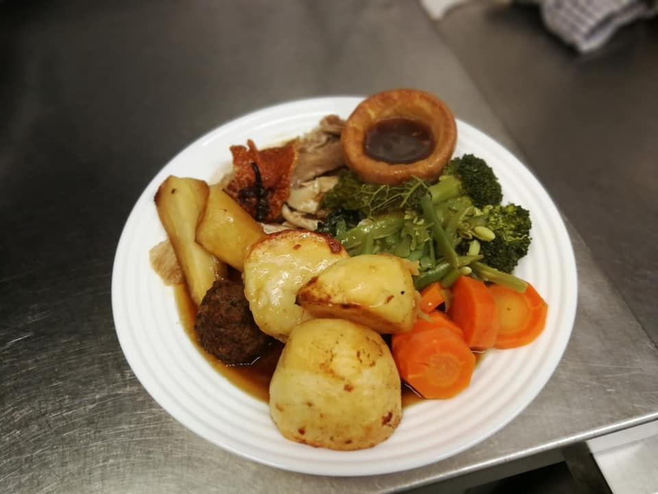 sunday roast at the vintage